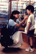 Smilla (Julia Ormond en Isaiah (c) 1997 Cinema1