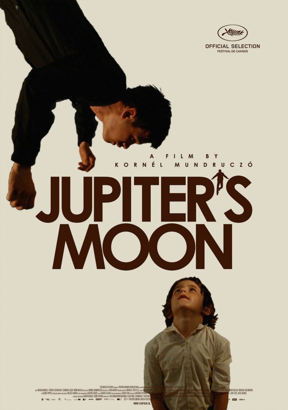 Jupiter's Moon poster, copyright in handen van productiestudio en/of distributeur
