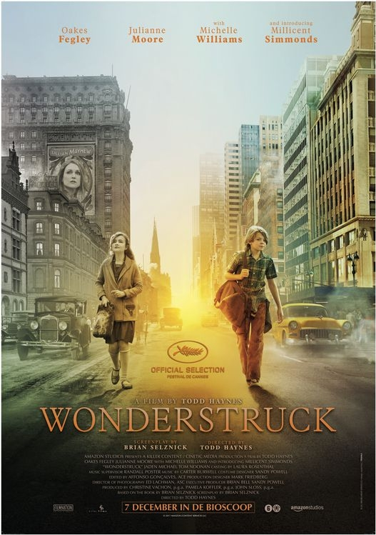 Wonderstruck poster, © 2017 The Searchers