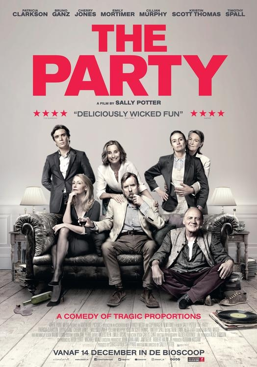 The Party poster, © 2017 Cinéart