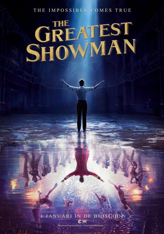 The Greatest Showman poster, © 2017 20th Century Fox