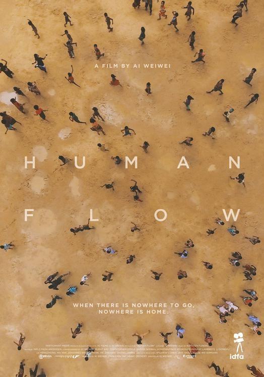 Human Flow poster, © 2017 Independent Films