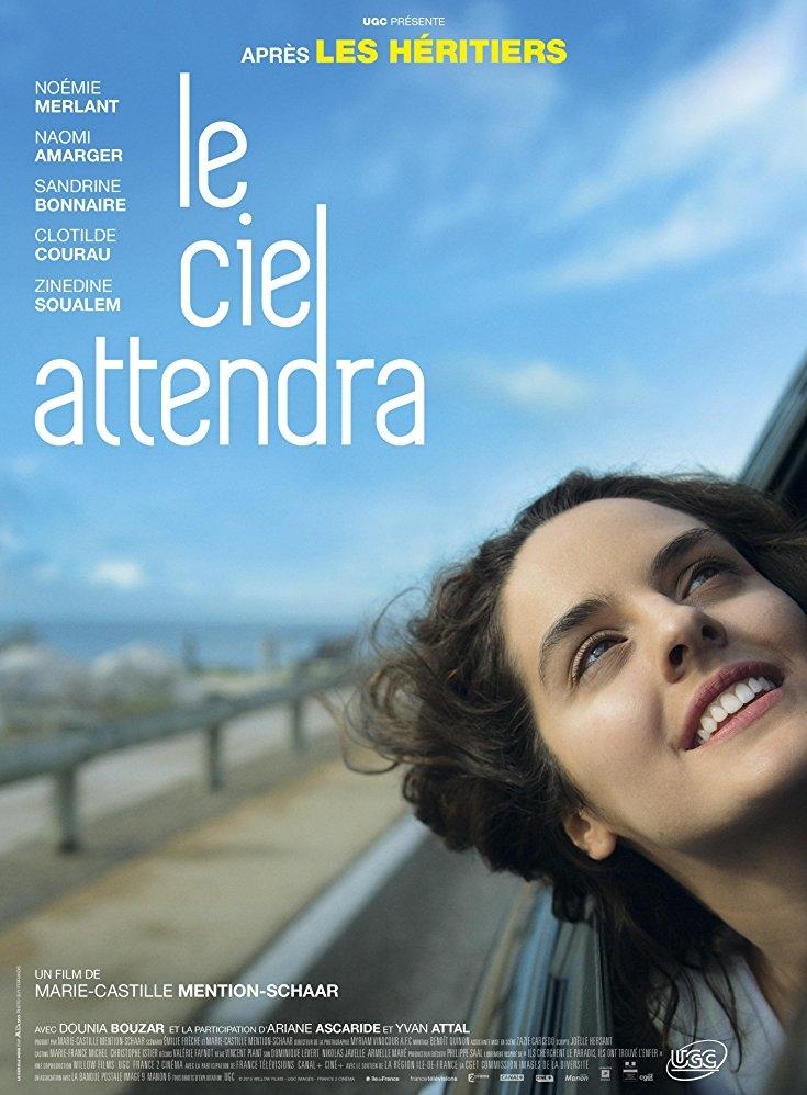 Le ciel attendra poster, copyright in handen van productiestudio en/of distributeur