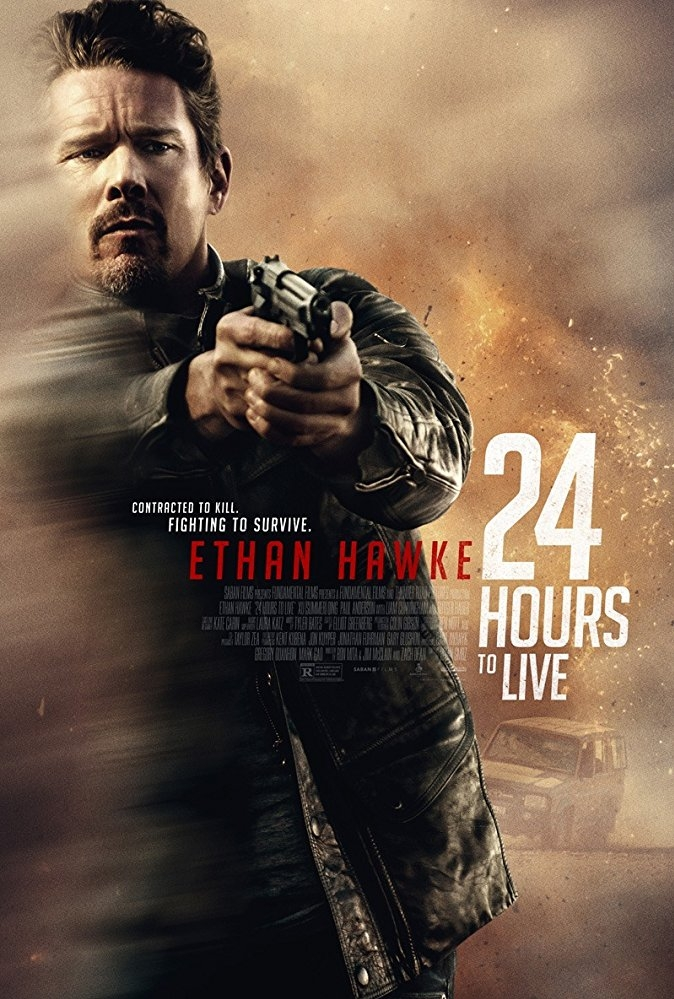 24 Hours to Live poster, © 2017 The Searchers