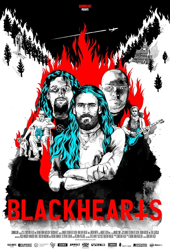 Blackhearts poster, copyright in handen van productiestudio en/of distributeur
