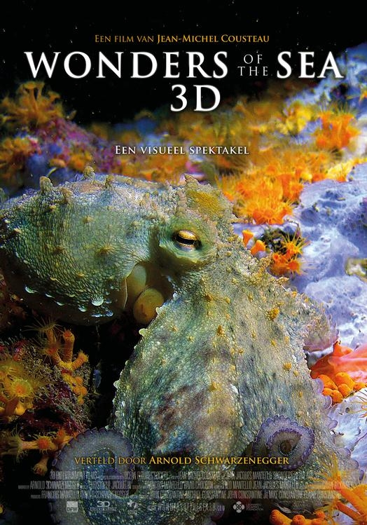 Wonders of the Sea 3D poster, © 2017 Dutch FilmWorks