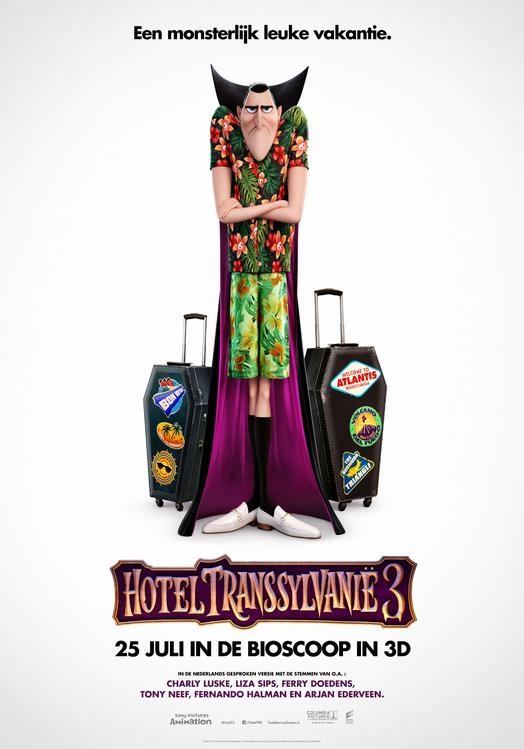 Hotel Transylvania 3 poster, © 2018 Universal Pictures International