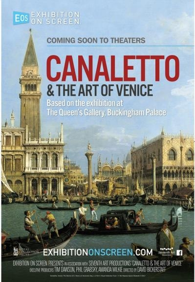 EOS: Canaletto & The Art of Venice poster, copyright in handen van productiestudio en/of distributeur