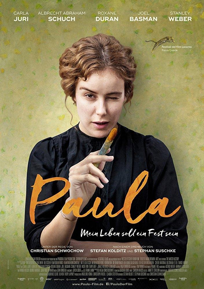 Paula poster, copyright in handen van productiestudio en/of distributeur