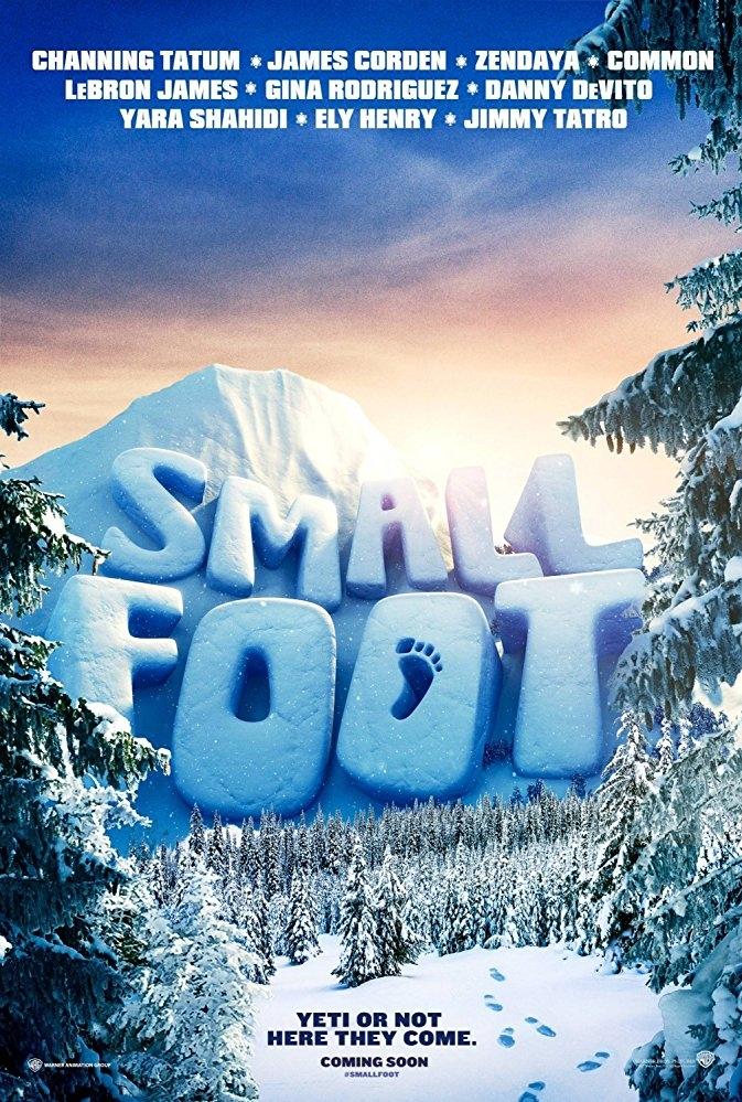 Smallfoot poster, © 2018 Warner Bros.