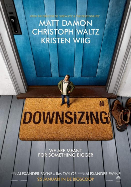 Downsizing poster, © 2017 Universal Pictures International