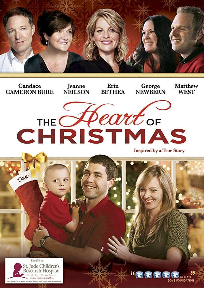 The Heart of Christmas poster, copyright in handen van productiestudio en/of distributeur