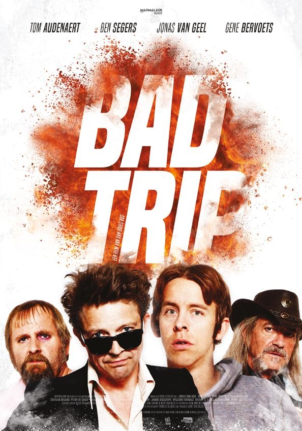 Bad Trip poster, copyright in handen van productiestudio en/of distributeur