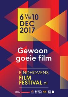 Eindhovens Film Festival 2017 poster, copyright in handen van productiestudio en/of distributeur