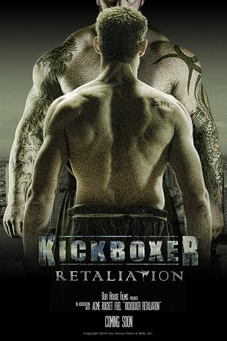 Kickboxer: Retaliation poster, copyright in handen van productiestudio en/of distributeur
