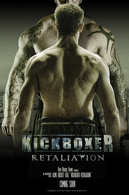 Kickboxer: Retaliation poster, copyright in handen van productiestudio en/of distributeur