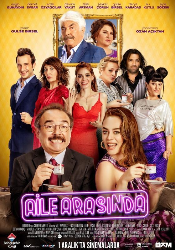 Aile Arasinda poster, copyright in handen van productiestudio en/of distributeur