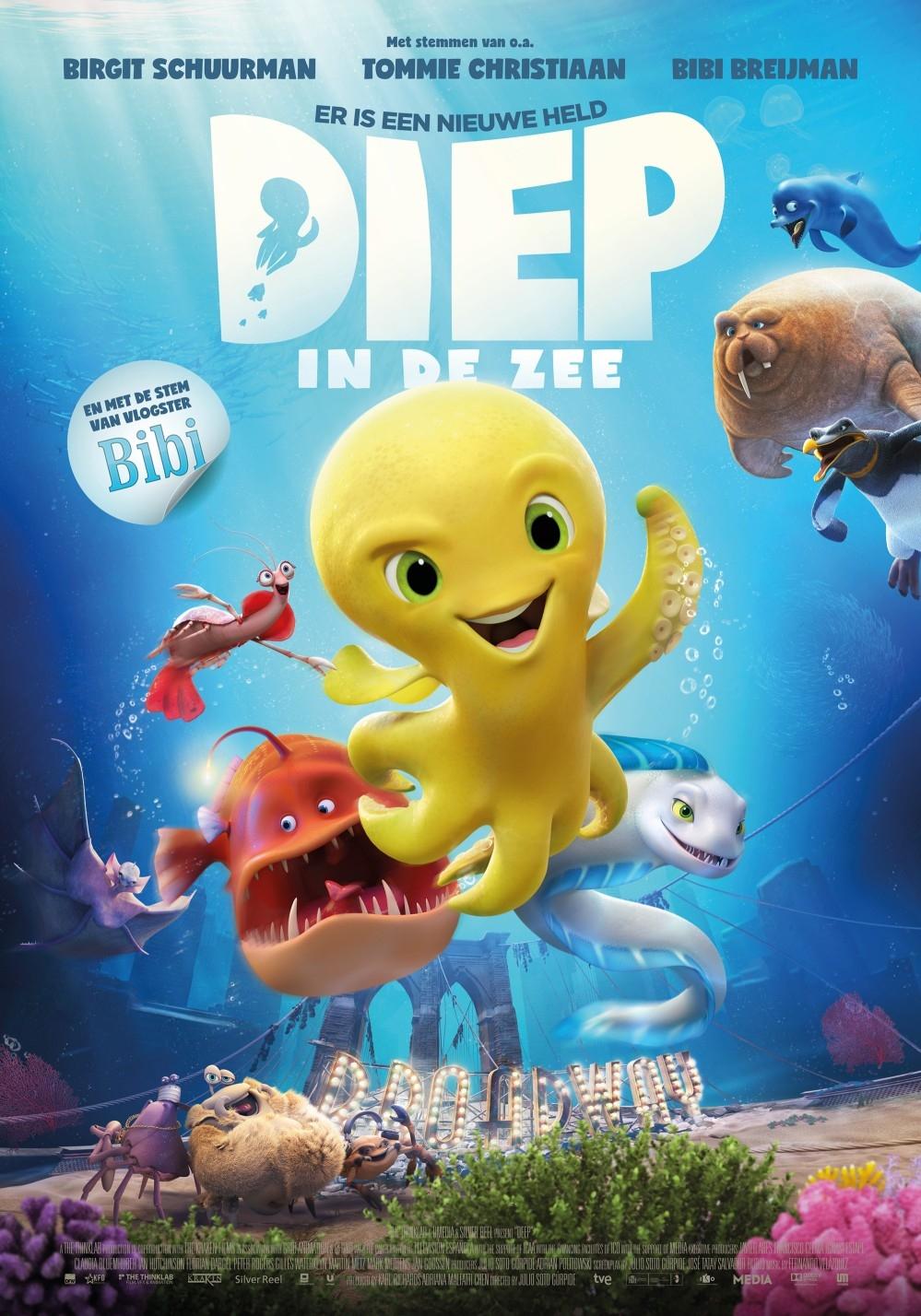 Diep in de Zee (NL) poster, copyright in handen van productiestudio en/of distributeur
