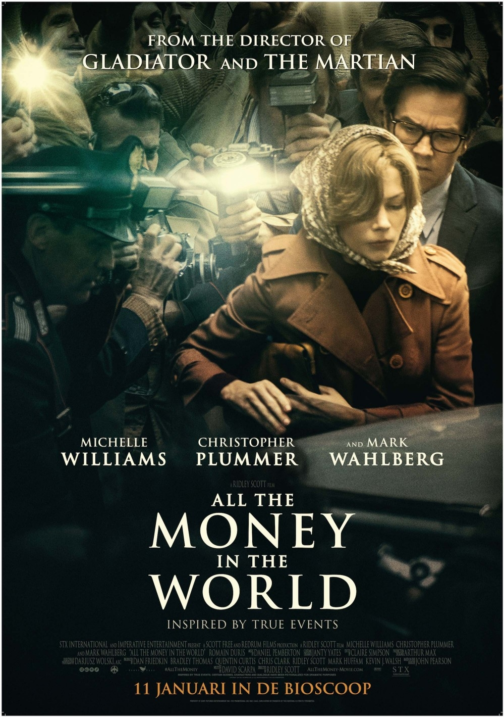 All the Money in the World poster, © 2017 The Searchers