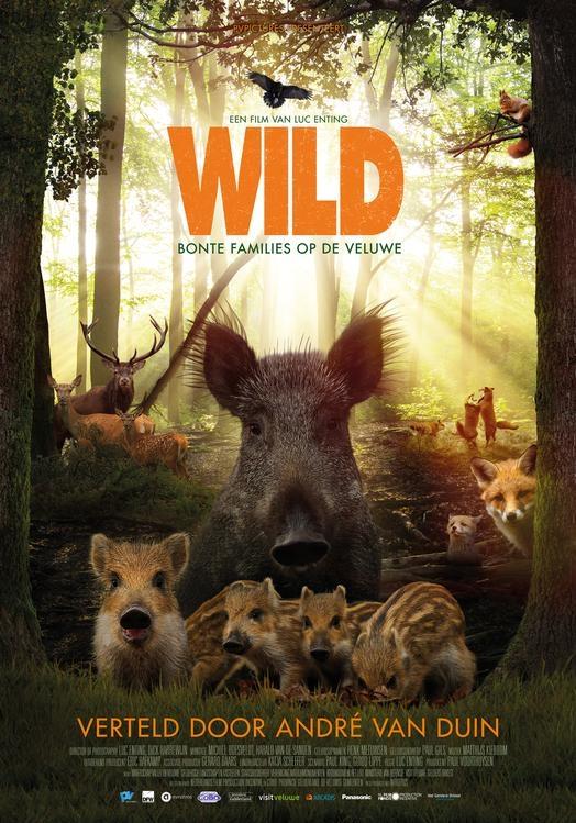 De Wilde Veluwe poster, © 2017 Dutch FilmWorks