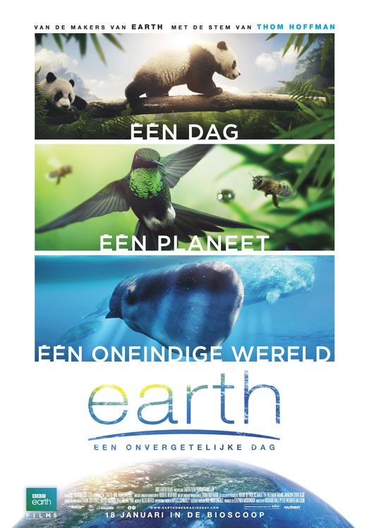 Earth: One Amazing Day poster, © 2017 The Searchers