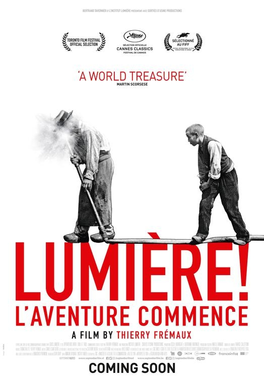Lumiere! L'Aventure Commence poster, © 2016 September