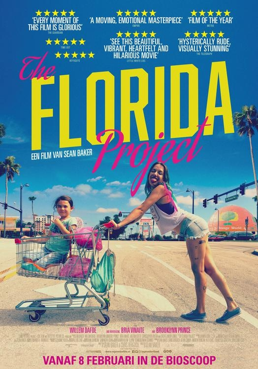 The Florida Project poster, © 2017 September