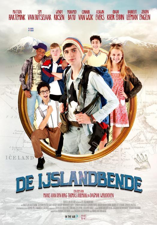 De IJslandbende poster, © 2018 In the air
