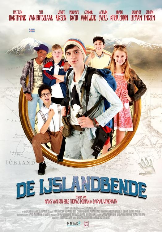 De IJslandbende poster, © 2018 In the air