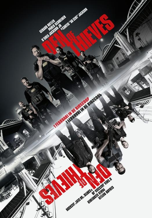 Den of Thieves poster, © 2018 The Searchers