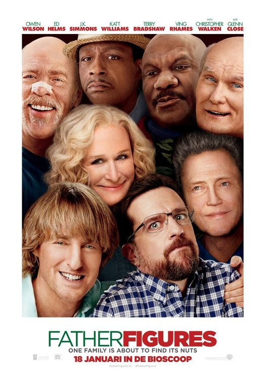 Father Figures poster, © 2017 Warner Bros.