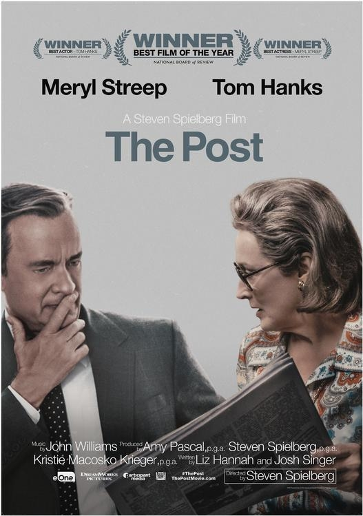 The Post poster, © 2017 Entertainment One Benelux