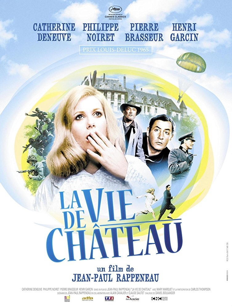 La vie de château poster, copyright in handen van productiestudio en/of distributeur