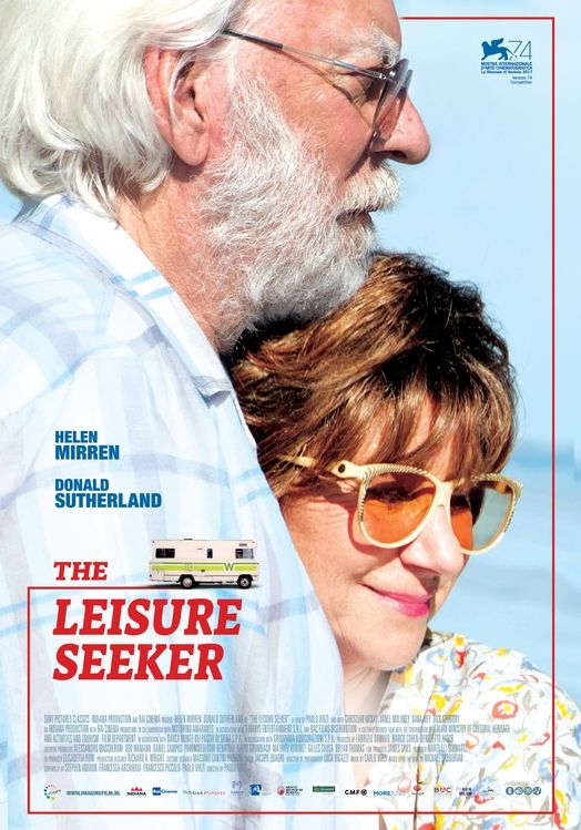 The Leisure Seeker poster, © 2017 Imagine