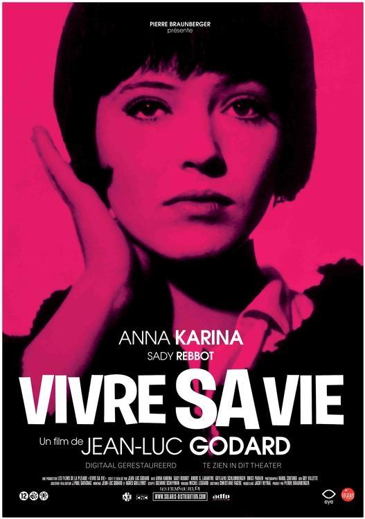 Vivre sa vie poster, © 1962 Eye Film Instituut