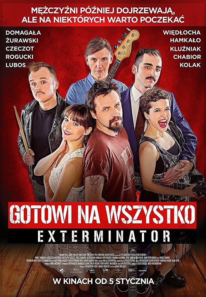 Gotowi na wszystko. Exterminator poster, copyright in handen van productiestudio en/of distributeur