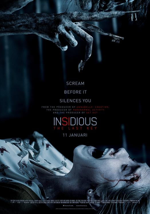 Insidious: The Last Key poster, © 2018 Universal Pictures International