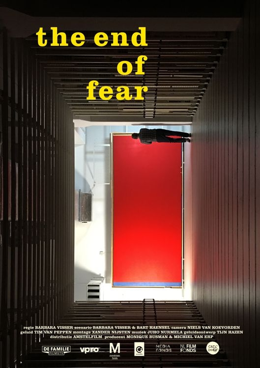 The End of Fear poster, © 2018 Amstelfilm