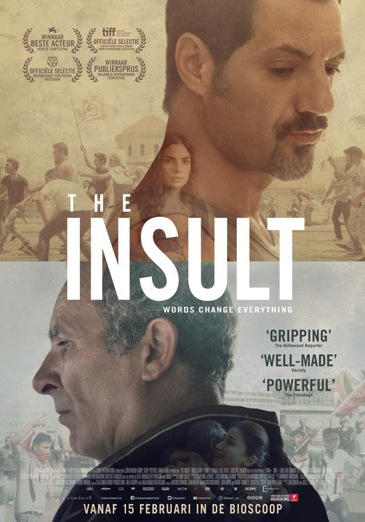 The Insult poster, © 2017 Cinéart