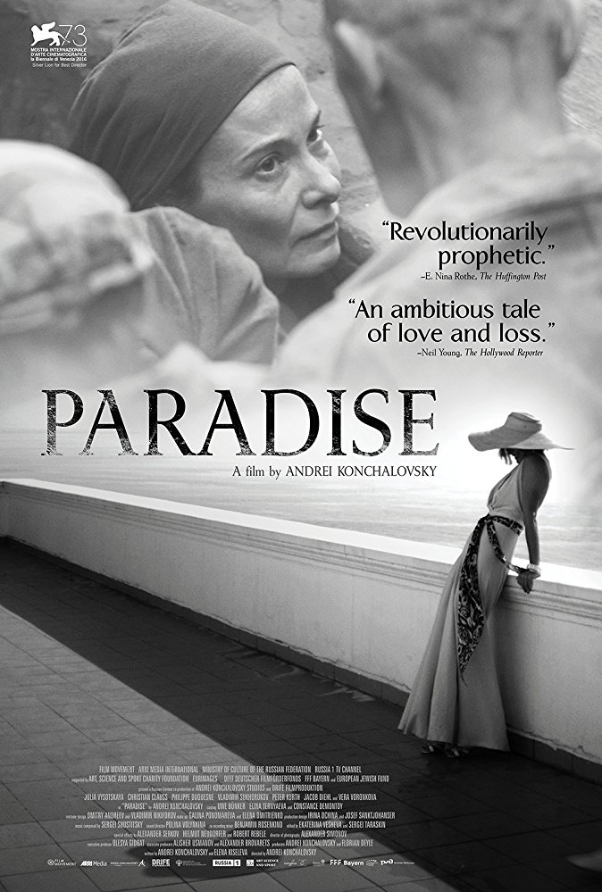 Paradise poster, copyright in handen van productiestudio en/of distributeur