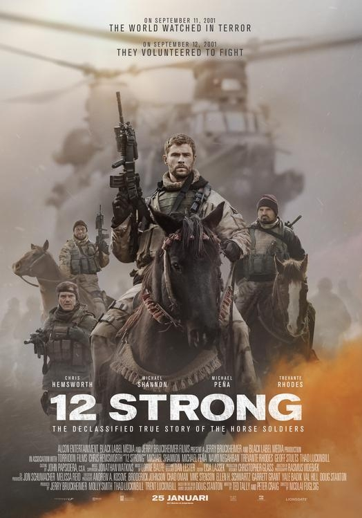 12 Strong poster, © 2018 Independent Films