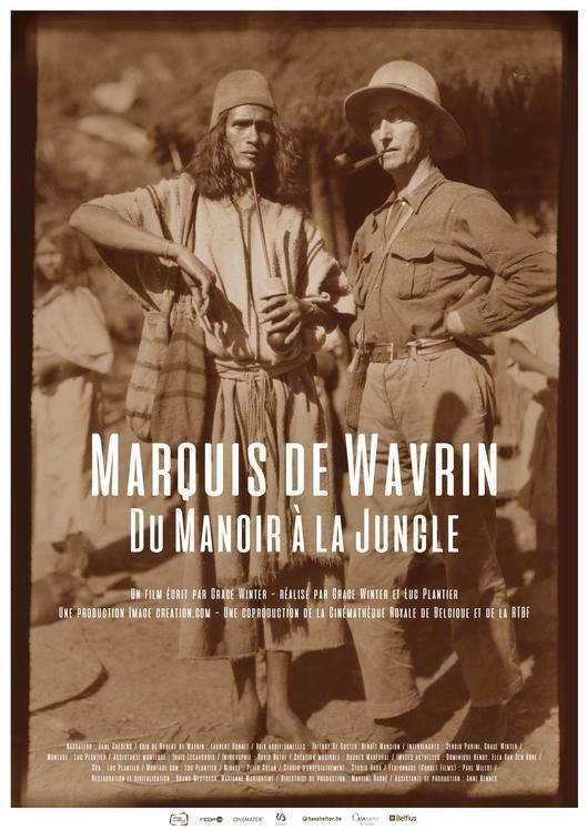 Marquis de Wavrin poster, © 2017 MOOOV Film Distribution