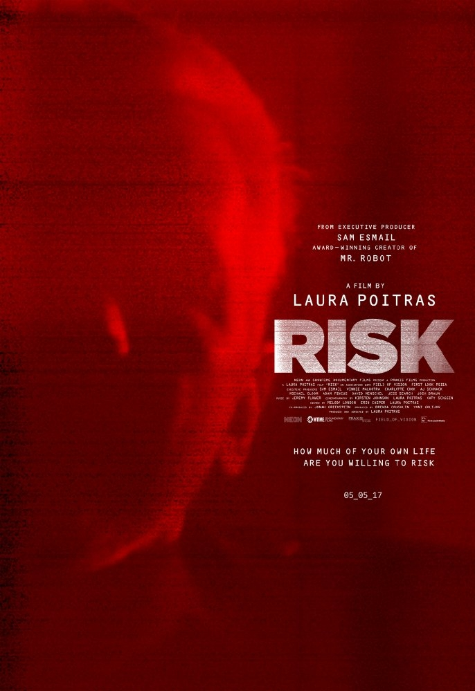Risk poster, copyright in handen van productiestudio en/of distributeur