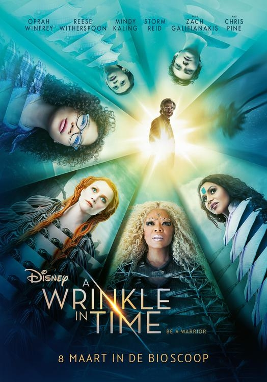 A Wrinkle in Time poster, © 2018 Walt Disney Pictures