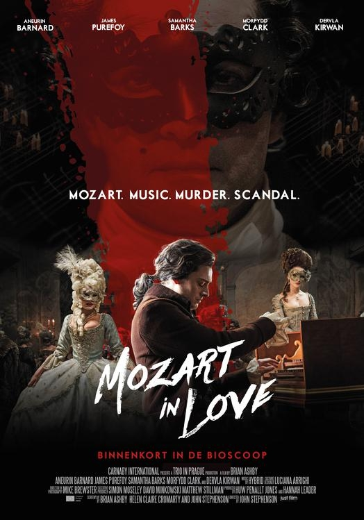 Mozart in Love poster, © 2017 Just Film Distribution
