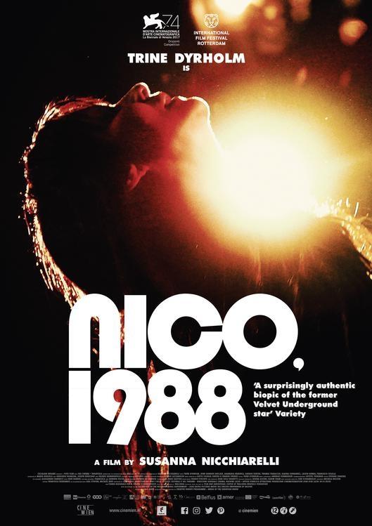 Nico, 1988 poster, © 2017 Cinemien