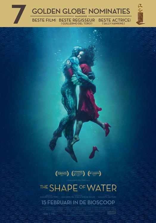 The Shape of Water poster, © 2017 20th Century Fox