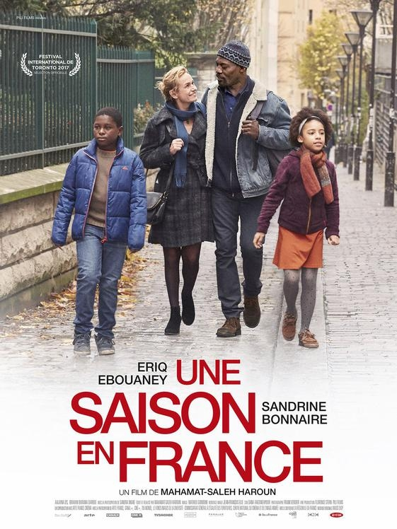 Une saison en France poster, © 2017 Imagine