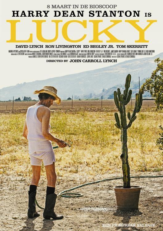 Lucky poster, © 2017 De Filmfreak
