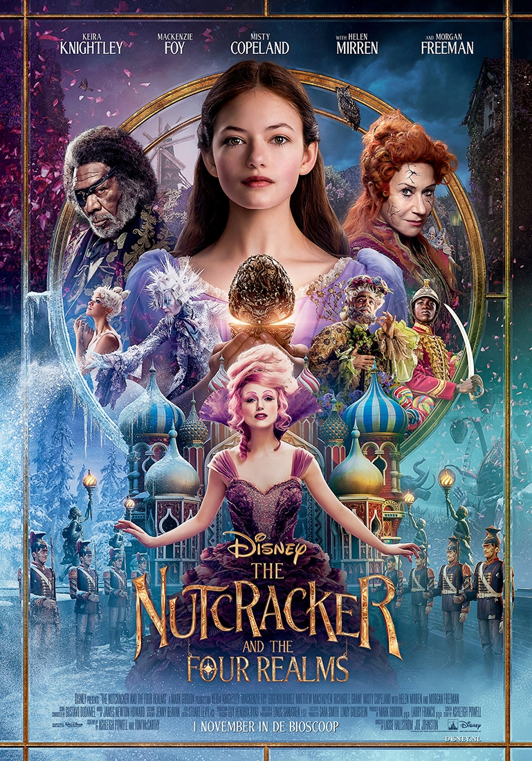 The Nutcracker and the Four Realms poster, © 2018 Walt Disney Pictures